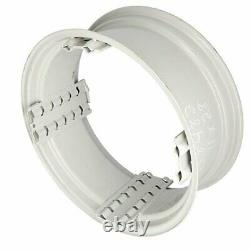 11 x 28 Spin Out Rear Rim Off-White Compatible with Ford 2120 4000 2000 4110