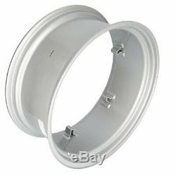 12 x 28 6 Loop Rear Rim Silver Mist John Ford John Deere Case IH