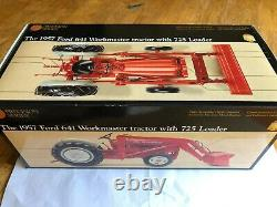 1957 Ford 641 Workmaster tractor with 725 Loader Precision Classics #6 by Ertl