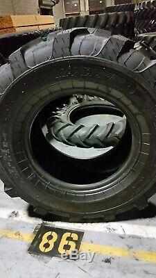 19.5-24, 19.5x24 Maxdura R4 12 ply backhoe tire