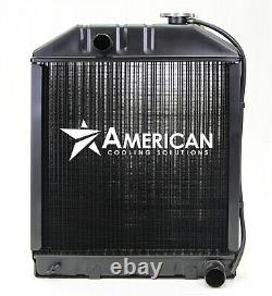 (24075) Radiator Ford Tractor Models 340 340A 340B 445 535 545 Construct