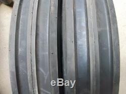 (2) 11.2x28 FORD JOHN DEERE Tractor Tires withtubes & (2) 550x16 3 rib withtubes