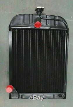 4 ROW New Radiator For Ford Tractors 2N 8N 9N 8N8005 with cap
