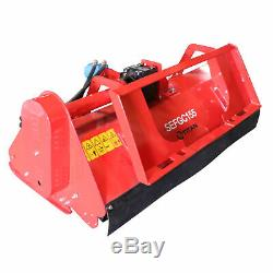 60 Hydraulic Skid Steer Flail Mower For Maintaining Fields With Tractor Loaders