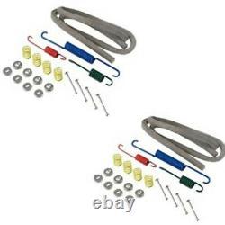 9N2019AF / 9N2065 Complete Brake Repair Kit with Shoes Fits Ford 9N & 2N Tractors