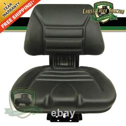 BT-116B NEW Black Seat For Ford Tractors, John Deere Tractors, Massey Ferguson