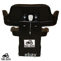 Black Ford New Holland 3300 3910 3930 6000 7610 Waffle Tractor Suspension Seat