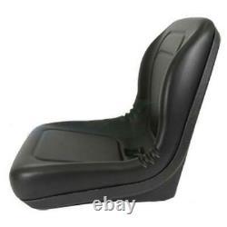 Black Seat Fits Kubota L3010 L3410 L3710 L4310 L4610 Compact Tractor L48 Backhoe