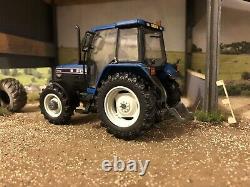 Blue Cab Roof Ford 7740 SLE SL4wd tractor Conversion 132 Farm model TRAKTOR