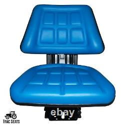 Blue Ford / New Holland 3000 3600 3610 3900 Triback Tractor Suspension Seat