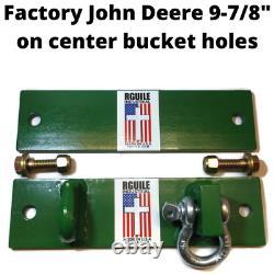 Bucket Hook and Shackle John Deere factory bucket holes 9-7/8 center