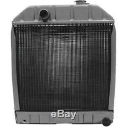 C7NN8005H Radiator for Ford Tractor 2000 2600 3000 3600 4000 & 2 Mounting Pads