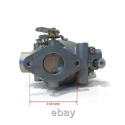 Carburetor Kit with Spark Plugs, Gaskets, Clips, Studs, Bolts, Screws, and Line