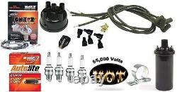 Electronic Ignition Kit & Hot Coil Ford 8N Tractor Side Mount Distributor