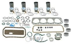 Engine Overhaul Rebuild Kit Ford 600, 601, 640, 641, 651 4 cyl 134 Gas Tractor