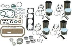 Engine Overhaul Rebuild Kit Ford 860, 861, 871, 881 Tractor 172 4 Cyl Gas