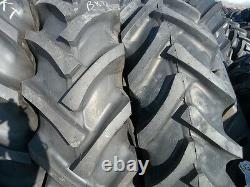 FORD-NEW HOLLAND Tractor Tires (2) 16.9x30 withtubes & (2) 650X16 3 Rib withtubes