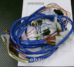 Ford 2000,3000,4000,4100 Tractor Wiring Harness/Loom For Dynamo Type