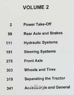 Ford 2000 3000 4000 5000 7000 Series Tractor Service Parts Repair Manual Shop