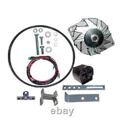Ford 2n 8n 9n 6 Volt to 12 Volt Alternator Conversion Kit For Front Mount Dist