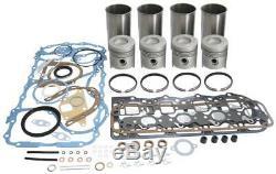 Ford 5000, 5110, 5610, 5900, 6600 Tractor Engine Rebuild Kit (bsd442 Engine)