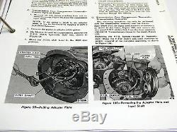 Ford 600,601,700,701,800,801,900 Tractor Service Manual Repair Shop Book NEW