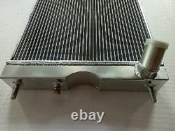Ford 8N tractor with 6 cylinder Funk Conversion Custom Aluminum Radiator 56MM 2Row