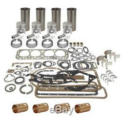 Ford Tractor 2n 8n 9n Engine Overhaul Kit Pistons. 040 Sleeves Rings Gaskets