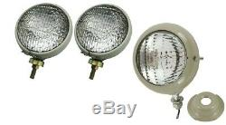 Ford Tractor Headlights with Work Lamp Ford 2N, 9N, 8N, NAA, 600, 700, 800, 900