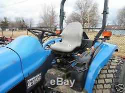 Gray Seat Ford New Holland Tc Tractor Tc40d, Tc45, Tc40da, Tc45da, Tc48da, Tc55da #ef