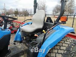 Gray Seat Ford New Hollland Tractors Tc25d, Tc29d, Tc33, Tc34, Tc35a, Tc40, Tc45d #ee
