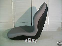 Gray Seat New Holland Tc30, Tc45d, Tc40, Tc35a, Tc34, Tc33, Tc29d, Tc25d Tractors #dv