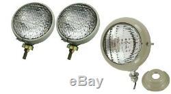 Headlight set & Work light Ford Tractor 8N Jubilee 501 600 601 700 701 800 801