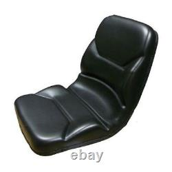 High Back Black Seat for Walker Zero Turn Mowers ZTR
