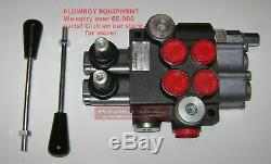 Hydraulic Monoblock Spool Valve for Compact Tractor Ford New Holland McCormick