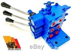 Hydraulic Triple Remote Valve Ford 600 700 800 2000 3000 4000 2610 2910+ Tractor