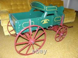 John Deere Goat Child's Model Farm Wagon Pedal T Tractor Car International Ford
