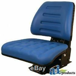 Made to Fit FORD NEW HOLLAND TRACTOR & COMPACT TRACTOR FULL SUSPENSION SEAT E9NN