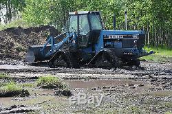 Mattracks, bidirectional, tractor, tracks, rubber, Ford, New Holland, loader, snowblower
