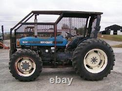New Holland / Ford 5030 Farm Tractor 4x4 65 HP Forestry Package