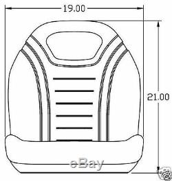 New Seat For Ford New Holland Tc Compact Tractors, Tc 25,29,30,33,35,40,45 #bl