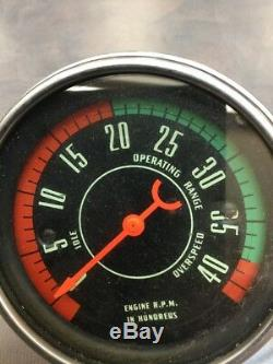 Oe 1956 56 Stewart Warner Ford F100 Truck Mechanical Tach Race Car Scta Rat Rod