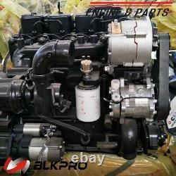 Original DCEC Cummins Engine complete 4BTAA 3.9L 115HP For Construction No core