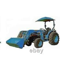 ROPS Ford Blue Tractor Umbrella Canopy & Canvas Cover with Rollbar Mount 405965