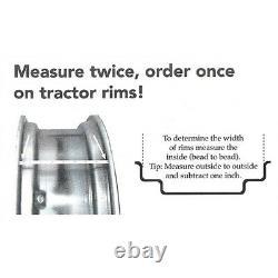 SBA336120320 10 X 24 Rear Wheel Rim 4 Loop Fits Ford