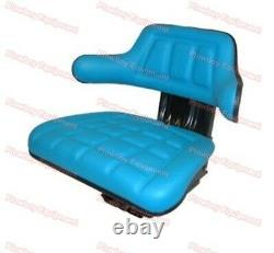 SUSPENSION SEAT for FORD TRACTOR BLUE 2000 2600 2610 3000 3600 3910 4000 4600 +