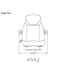 Seat Assembly Fits New Holland Loader Backhoe 555 555A 555B 555C 555D 555E 575D