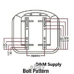 Skid Steer to fit Bobcat Tractor Seat to fit New Holland Kubota John Deere