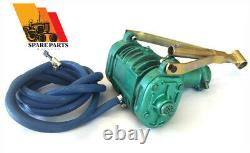 TRACTOR PTO AIR COMPRESSOR Twin Cylinder With Hose Pipe Field On Site Pump Tyres