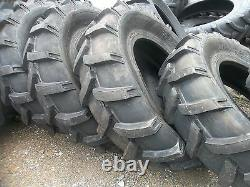 TWO 14.9x24, 14.9-24 Ford-New Holland 8210 Farm Tractor Tires 8 Ply
